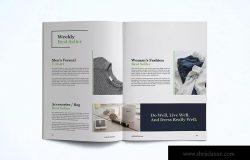 时装订货画册/新品上市产品目录设计模板