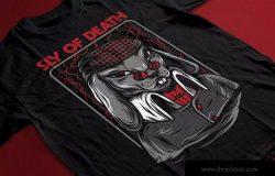 狡猾の兔潮牌T恤印花图案设计素材