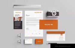 品牌视觉设计办公用品设计模板套装
