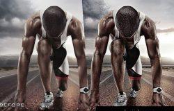 专业体育健身类图片HDR处理的Photoshop动作 PRO Sports Photoshop Action [atn]