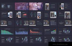 科技主题企业项目介绍Keynote幻灯片模板 Tech – Keynote Template