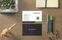 创意设计师个人名片设计模板 Business Card