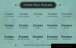 维多利亚时代复古风格衬线字体 Figuera Variable Fonts
