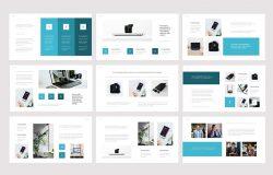 简洁风商业营销Powerpoint模板