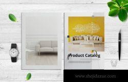 家具产品目录室内设计杂志画册模板
