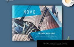 现代画册模板 Novo Modern Brochure