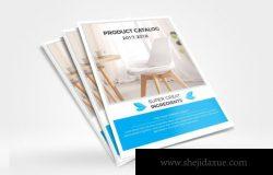 简约风格产品目录企业产品画册设计模板