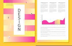 撞色设计感创意书籍封面排版