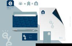 眼科医院品牌VI系统设计模板