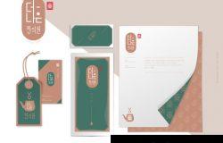 传统中药企业品牌设计VI系统模板