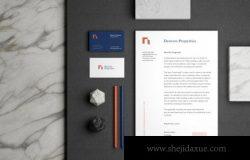 极简品牌产品设计展示样机 [PSD]