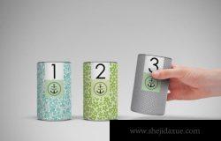 礼品茶叶类产品包装样机(PSD)