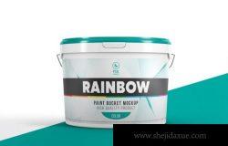 塑料油漆桶设计样机(PSD)