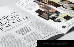 时尚高端特写镜头宣传册画册房地产楼书时尚杂志VI样机展