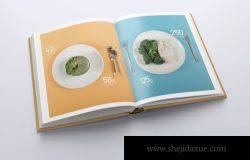 各种效果的精装书设计样机(PSD)