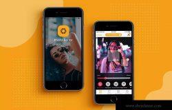 iOS平台照片编辑工具APP应用交互设计UI套件v1 iOS Photo Editor App Design