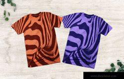 T恤图案设计预览样机模板 T Shirt Mockup