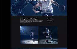 个人简历/作品展示网站设计Ajax网站模板 MacLaren – Personal Portfolio Ajax Template