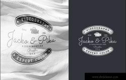 欧美复古设计风格品牌商标/Logo/徽章设计模板