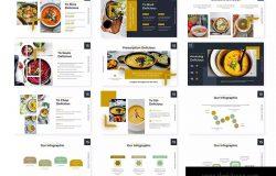 西餐厨师餐饮培训主题PPT幻灯片模板 Suppa – Powerpoint Template