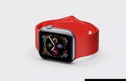 苹果第四代智能手表超级样机套装 Apple Watch 4 Mockups