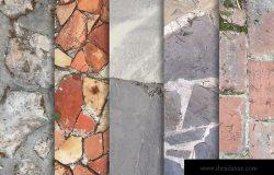 10张石材地板纹理高清背景墙图片素材v2 Stone Floor Textures x10 Vol 2
