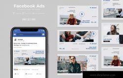 Facebook社交平台时尚品牌推广设计素材v16 SRTP – Facebook Ads