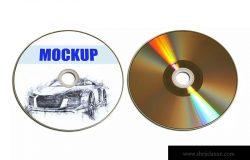 复古风格DVD/CD封面设计效果图样机 Recto_Verso- Dvd-Cd-Disc_mockup