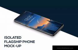 全面屏智能手机APP界面设计演示样机
