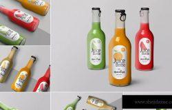 果汁瓶外观设计效果图样机模板