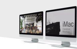 IMAC Mockup产品海报广告设计模型设备样品