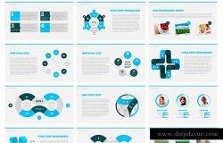 18000+页多用途商务企业主题Keynote幻灯片模板 Everest Business Keynote Template