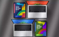 iPad Pro & 笔记本电脑套装样机