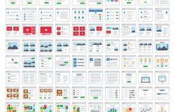 120个UX/UI流程图卡片式设计线框图设计套件 UX Wireframe kit