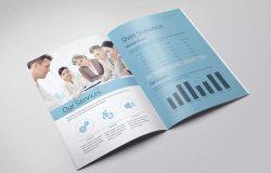 产品目录/企业画册设计样机素材