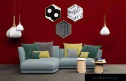 室内装饰设计场景样机模板 Mockup Interior Scene Creator – MK2