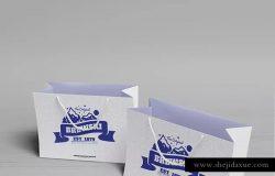 冷饮品牌设计样机模板[不锈钢冰摇杯/马克杯/玻璃杯/纸袋] Branded Products Mock-up V2