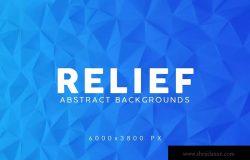 抽象浮雕高清背景设计素材 Relief Abstract Backgrounds