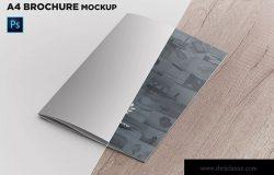 A4尺寸企业/品牌宣传册封面效果图样机模板