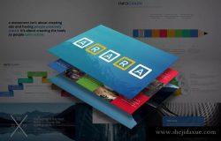 通用性强的一套创意企业PPT幻灯片模板下载 ARARA Powerpoint Template
