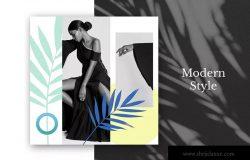 现代设计风格社交媒体自媒体设计套件v33 Modern Social Media Kit