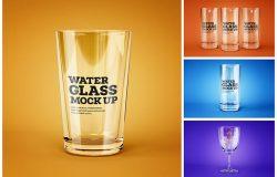 多款不同形状的酒精饮料玻璃杯模板合集