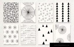 40款陶瓷釉手绘图案纹理背景图素材 Ceramic Glaze Pattern Kit