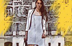 时尚高端艺术水彩风格的PS动作 Solid Painter Photoshop Action [atn]