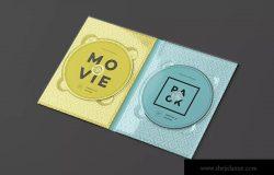 电影DVD包装盒外观设计样机3 Movie Pack Mock-up