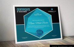 高端品牌/产品授权证书EPS设计模板 Certificate