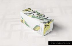 葡萄酒/饮料瓶包装纸盒样机9 Paper Box Mockup 09