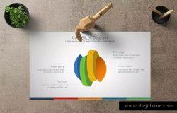 商业市场分析PPT模板 NIAGA Powerpoint Template