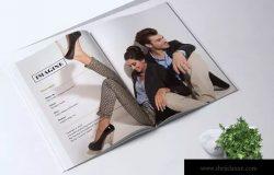 24页时尚服饰杂志设计INDD模板 IMAGINE – Fashion Magazine