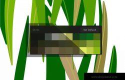 草坪草地颜色Procreate应用调色板 Procreate palette. Grass